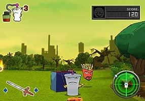 Aqua Teen Hunger Force: Zombie Ninja Pro-Am (PS2 ...