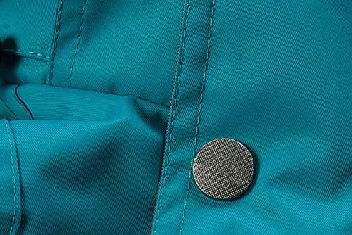 Esterno Esterno da Caldo in Campeggio Impermeabile Giacca Giacca da Alpinismo Blu Giacca Pezzi Due da Antivento Uomo Tuta JSHFD APRxzz