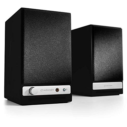 Audioengine HD3 Wireless Speaker   Desktop Monitor Speakers   Home Music System aptX HD Bluetooth, 60W Powered Bookshelf…