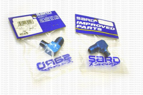 SARD (69020) Fuel Pressure Regulator Adapter Elbow AN#6 to NPT 1/8