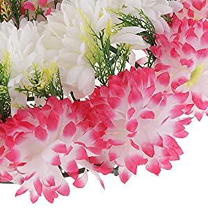 Baoblaze Artificial Handcraft Carnation Flower Arrangements in Grave Cemetery Wreath Flower 3