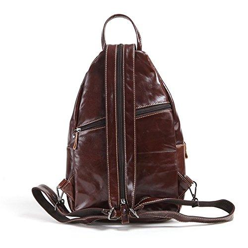 Meoaeo Schultertasche Aus Echtem Leder Die Neue Männer Taschen