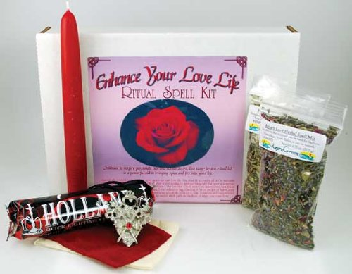 Fortune Telling Toys Boxed Magic Spell Kit Enhance Your Love Life Bring Passion