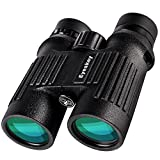 Eyeskey 10X42 HD Waterproof Compact Binoculars for Adults-Fully Multi-Coated and Dielectric Coatings-Great for Outdoor Travelling, Hunting