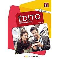 Édito B1 2. édition. Livre de l'élève +CD MP3 + DVD
