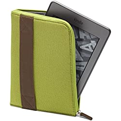 Amazon Kindle Zip Sleeve, Lime (fits Kindle Paperwhite, Kindle, and Kindle Touch) (Certified Refurbished)