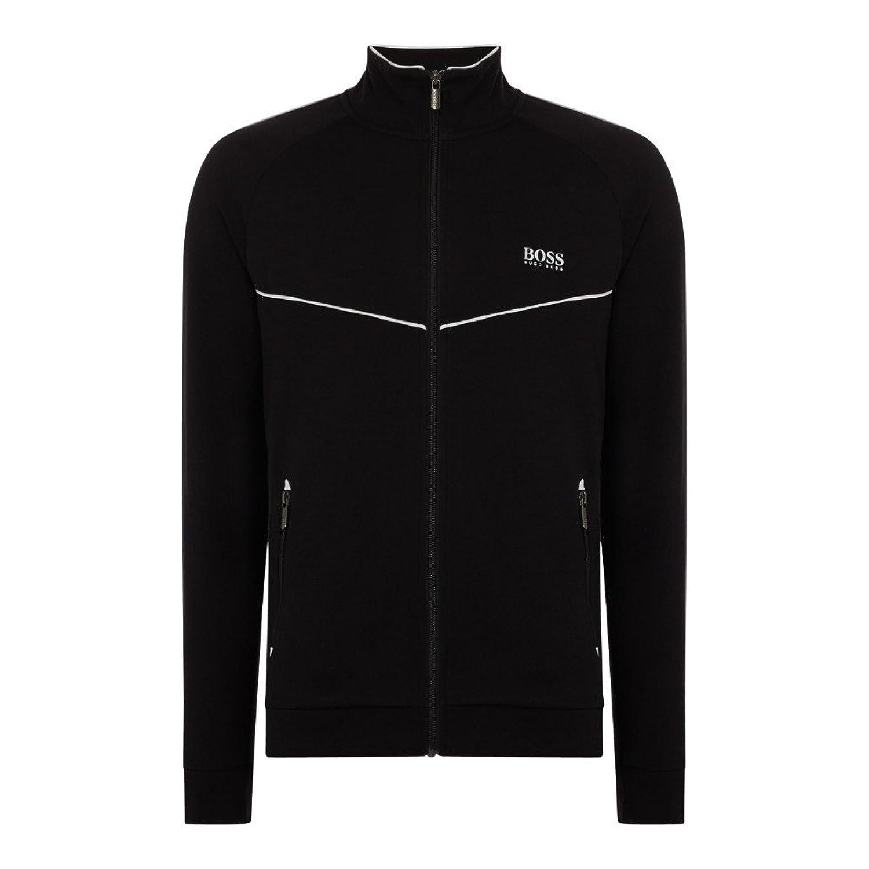 (ヒューゴ ボス) Hugo Boss メンズ アウター ジャージ Retro Tracksuit Zip Jacket [並行輸入品] B07FC86RZK   Large