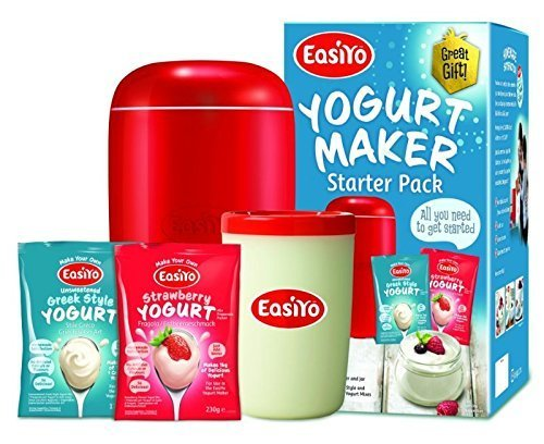 EasiYo Home-made Yoghurt Making Kit. Includes Maker, Jar & 2 Sachets by EasiYo