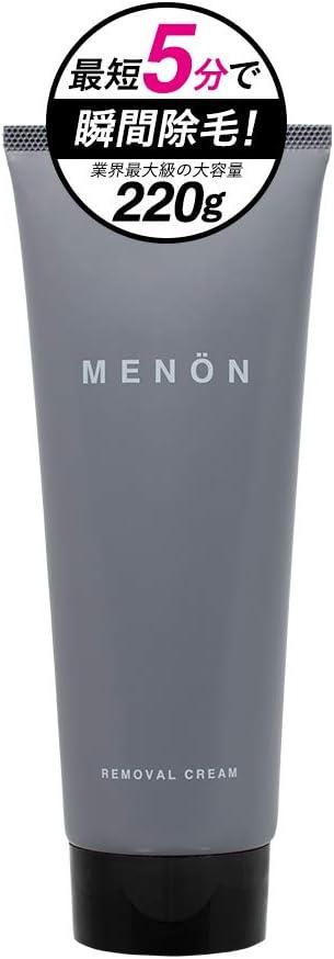 医薬部外品 MENON 除毛クリーム 220g 約2カ月分 薬用 Vライン ボディ用 男性用 メノン