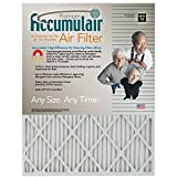 Filters Now.Com FA16X25-4 Accumulair Platinum Furnace Air Filter, 16 x 25 x 1-in, 4-pack Genuine Original Equipment Manufacturer (OEM) part