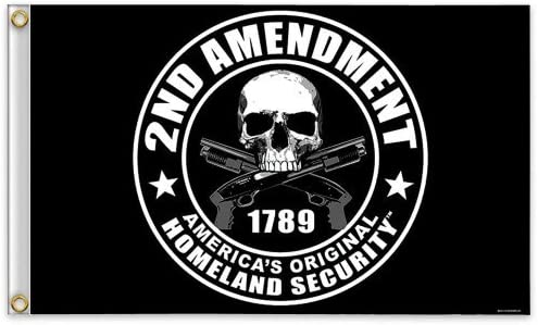 2nd Amendment America s Original Homeland Security Flag Outdoor, Home, Garden, Supply, Maintenance