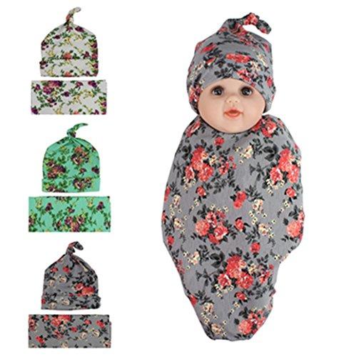 Newborn Swaddle Headband Receiving Blankets product image