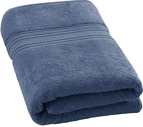 Utopia Towels 700 GSM Premium Cotton Bath Towel (Electric Blue, 27 x 54 Inches) Luxury Bath Sheet Perfect for Home, Bathrooms, Pool and Gym Ring-Spun Cotton