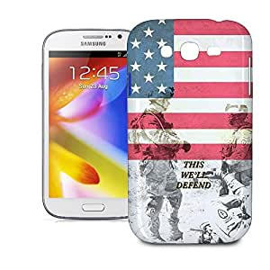 Phone Case For Samsung Galaxy Grand i9082 - US Army Armed Forces USA Hard Cover