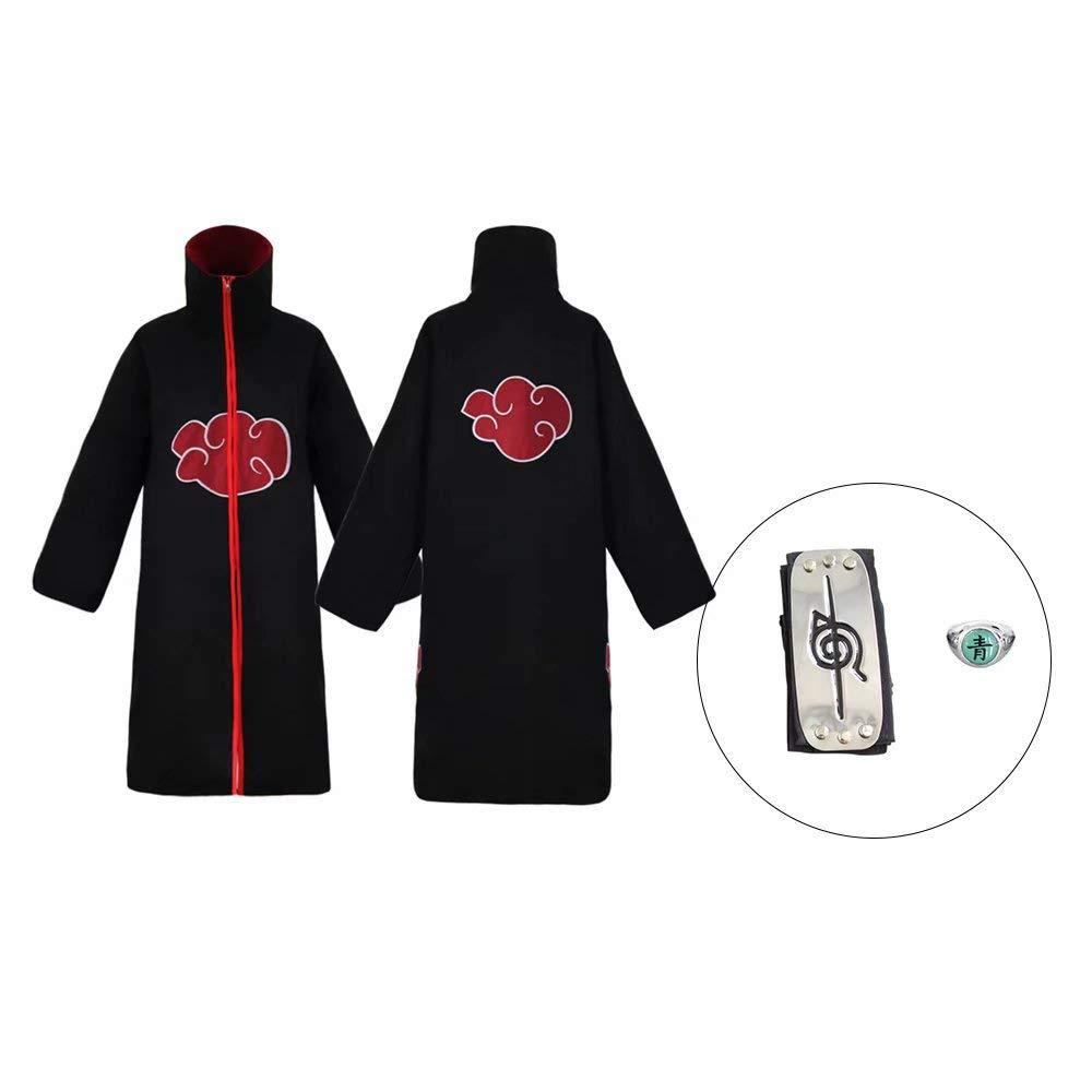 Amazon.com: abuhsut Unisex Halloween Cosplay Cloak 3Pcs ...