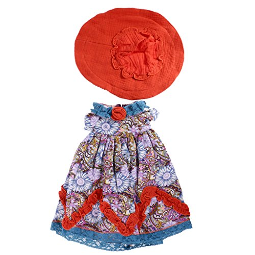 Jili Online Vintage Floral Printed Dress