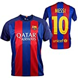 Official Replica FC BARCELONA 2016-2017, Shirt Messi - Adults Size: M