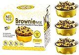 No Sugar Aloud, Brownie Mix (No sugar added, gluten free, no milk, egg free, keto, Vegan, Diabetic friendly) 11.8 0Z (Makes 6 cups)