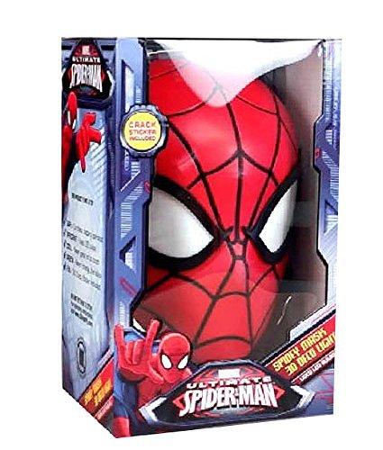 3D DECO LED LIGHT Spider-Man face Spider Man Face Light MARVEL