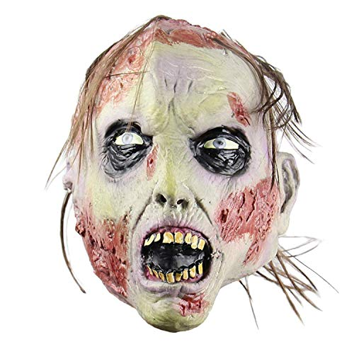 Halloween Horror Vampire Zombie Scary Props Cosplay Mask -