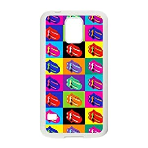 samsung galaxy s5 case (TPU), rolling stone Cell phone case White for samsung galaxy s5 - FGHJ8967801