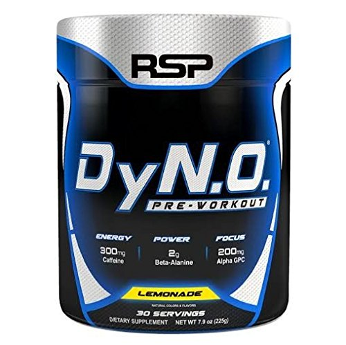 RSP Nutrition DyNO, Lemonade, 30 Servings