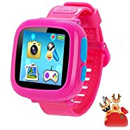 "Game Smart Watch for Kids, Kids Smartwatch, Children's Camera 1.5 ""Touch Screen Pedometer 10 Games Timer Alarm Clock Health Monitor Boys Girls Game Watches"