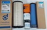 Bobcat T590 Filter Service Kit Air, Oil, Fuel Filters (5 Donaldson Filters)