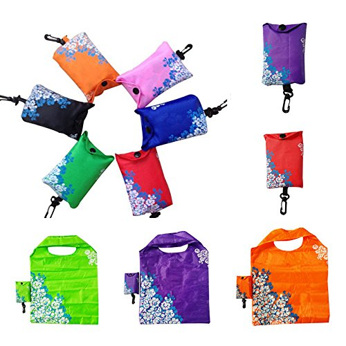 NPLE--Foldable Shopping Bag Reusable Tote Pouch Recycle Storage Bags Hot Sell New