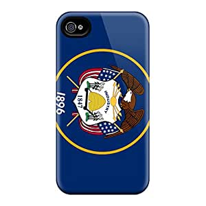 High Quality Shock Absorbing Case For Iphone 4/4s-utah