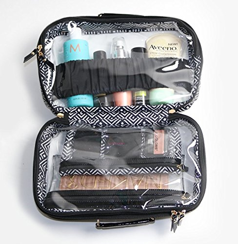 PurseN Amour Travel Toiletry Makeup Case Mod Diamond by PurseN