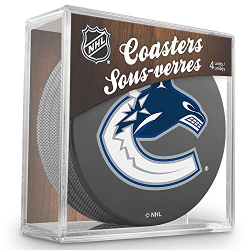NHL Vancouver Canucks Official Coaster by Sher-wood Hockey Inc