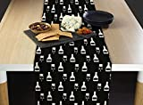 Graduation Champagne Celebration Milliken Signature Table Runner - Assorted Sizes (14''x108'')