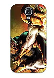 Benailey Perfect Tpu Case For Galaxy S4/ Anti-scratch Protector Case (marvel)
