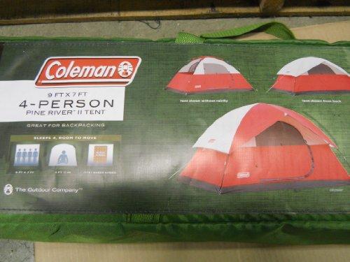 Coleman 4 Person 9 X 7 Tent & Coleman 4 Person 9 X 7 Tent - Camping Companion