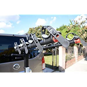Allen Sports Premier Hitch Mounted 4-Bike Carrier