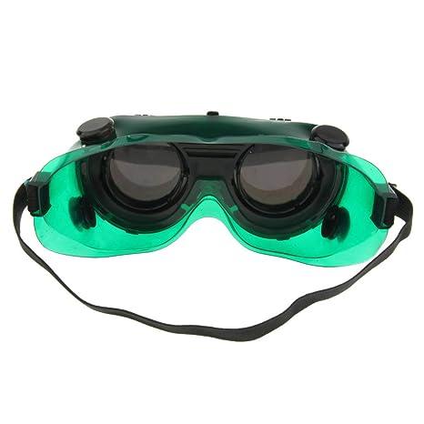 Homyl Gafas de Soldadura Protector de Soldador Ajustable Suministros de Laboratorios Negocio Científico