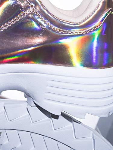 Vinyl Tooth Platform Holographic Lightweight Rose Sneaker Foam Shark Gold Metallic qwTCXC