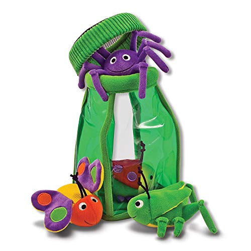 Melissa & Doug Deluxe Bug Jug Fill and Spill Soft Baby Toy Doug Puzzles Stuffed Animals