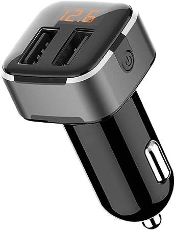 Wooshop Auto Ladegerät Usb Auto Adapter Mini Elektronik