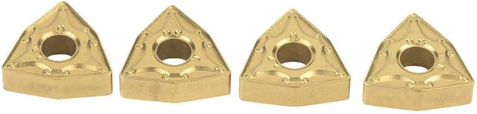 10 piezas WNMG 432//WNMG0804 Insertos CNC Herramienta de torneado de inserto de carburo para industrial Inserto de carburo