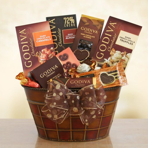 Godiva Dark Chocolate Decadence Gift Basket