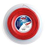 Ytex Hexagon-X Pearl Red - Cuerda para Raqueta de Tenis (Calibre 16, 1,25 mm)