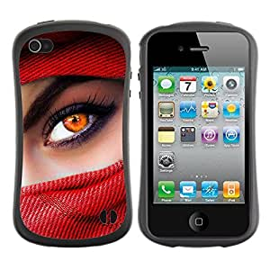 fashion Case for Apple iPhone 5s for kids / Beautiful Eyes