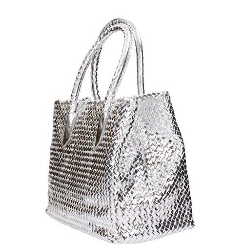 Pons Quintana V631.000 Taschen Frau Metall Silber