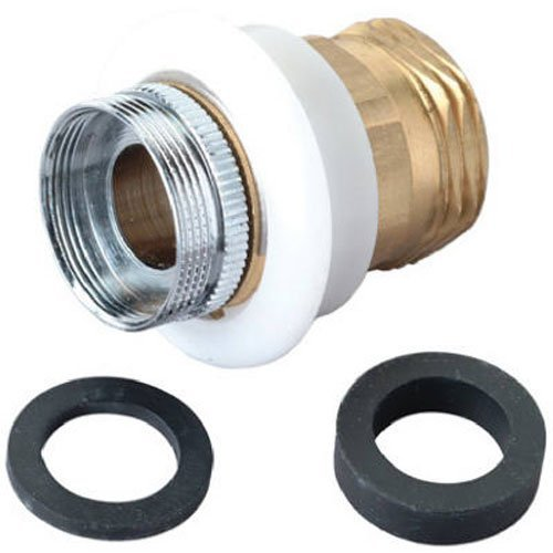 BrassCraft SF0078X Aerator Adaptor Snap Nipple with Appliance Connector - Thread Coupling