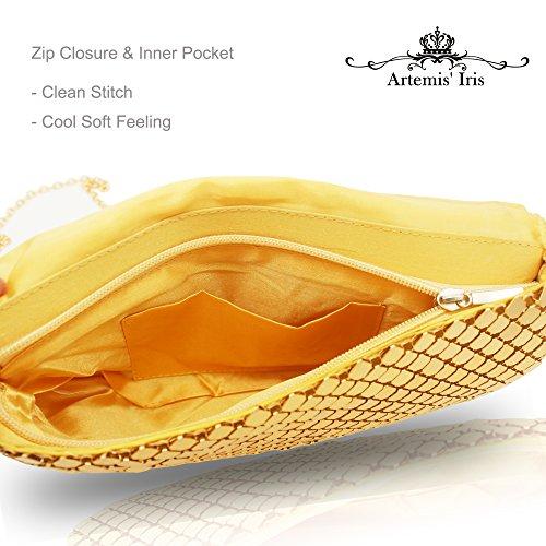 Artemis'Iris, Poschette giorno donna oro Gold