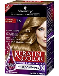 Schwarzkopf Keratin Color Anti-Age Hair Color Cream,...