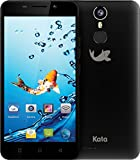 Kata i5 - 5-inch Super HD IPS Octa Core International Unlocked Smartphone Android 6.0 - Super Slim Super HD 1.3 GHz Dual Sim Card 4G 13MP Camera (Black)