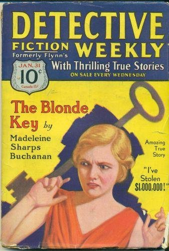 Detective Fiction Weekly. Jan. 31, 1931.